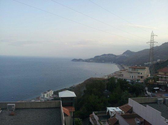 Residence Letojanni : Panorama dalla camera
