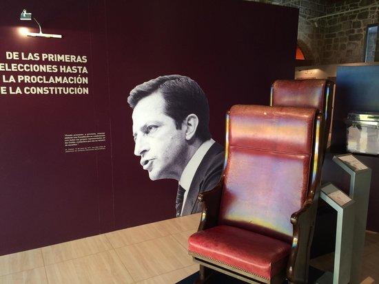 Museo de Adolfo Suárez y la Transición: Detalle imprescindible!!!