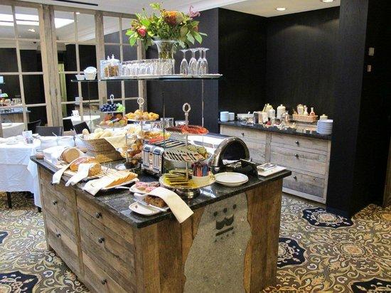 Hotel Prinsenhof Bruges: Breakfast area