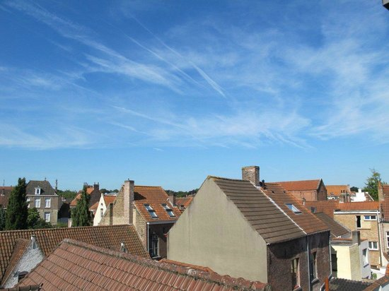 Hotel Prinsenhof Bruges: View from Superior Deluxe balcony