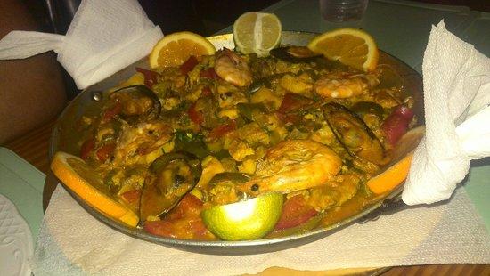 Restaurante El Golfo : Paella Valeciana