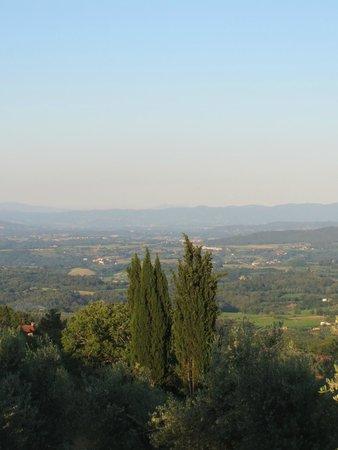 Ventena Vecchia - Antico Frantoio: Blick ins Tal 2