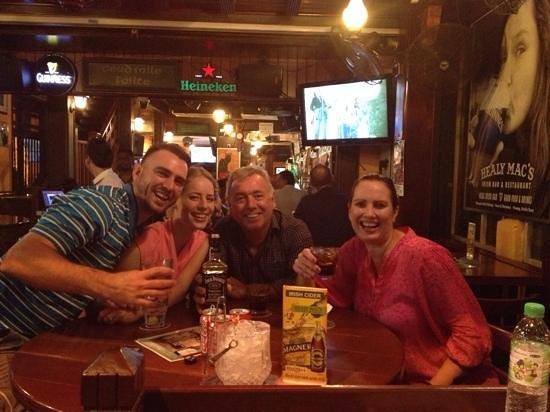 good times at Healy Mac's