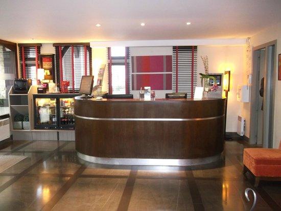 Mercure Deauville Centre : La réception