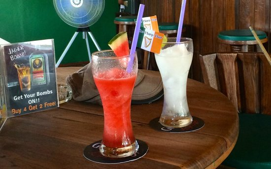 Hub Island Sports Cafe: Best fruit shakes on the island without doubt