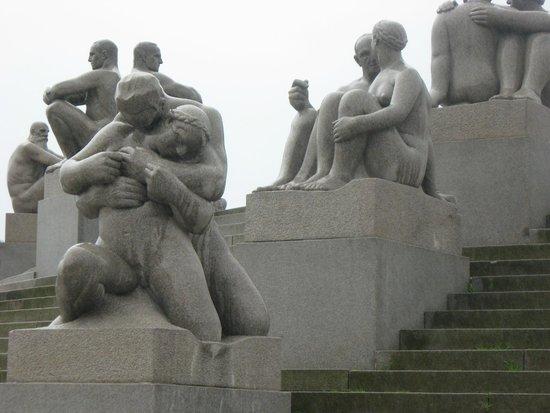 Museo de Vigeland: Он и она