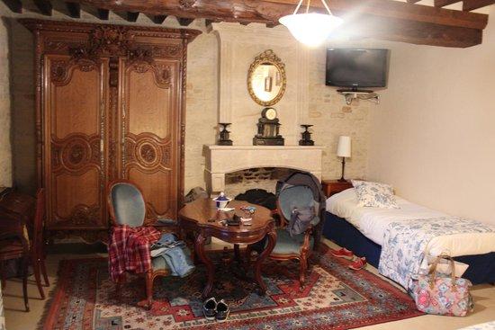 Domaine de la Ranconniere et de Mathan : Salon de la petite suite