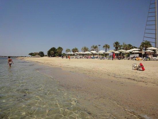 Hotel Sighientu Thalasso & Spa : Playa privada hotel