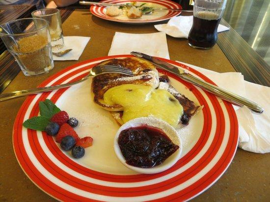 L'ETO: Pancakes mit Bluberries
