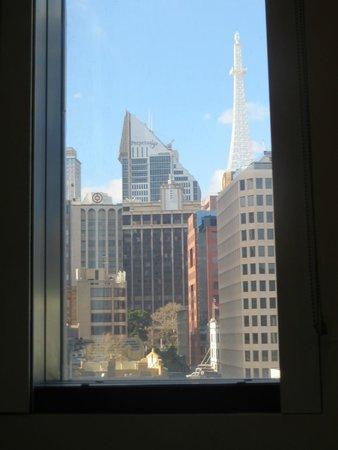 Ibis Sydney King Street Wharf: Aussicht aus dem Zimmer im 7.Stock