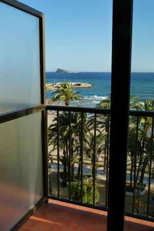Hotel Montemar: La isla de Benidorm desde la terraza