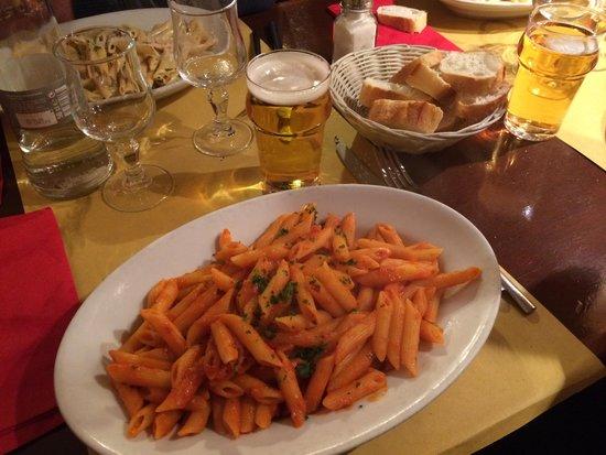 Le Melissan: dans les plats