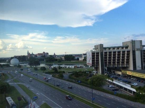 Hilton Garden Inn Hotel Krakow: View from room 714