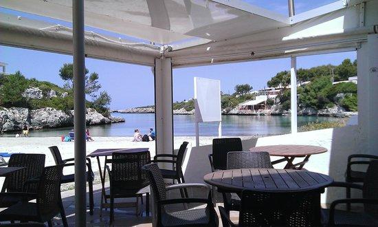 Santandria Playa Hotel: View from the beach restaurant
