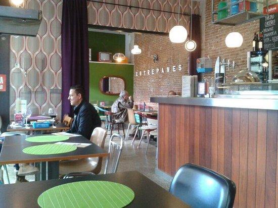El sueño de Laura Restaurante: Interior