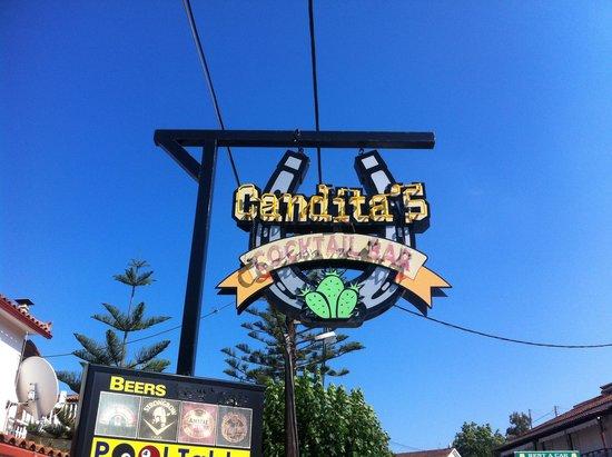 Canditas Studios: Hotellskylten