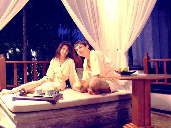 Nakamanda Resort & Spa: Вечер на террасе.Вилла.