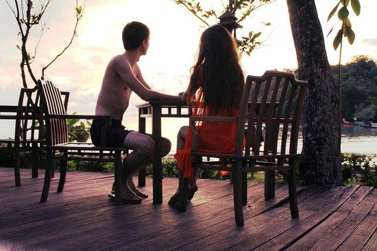 Nakamanda Resort & Spa: Любуемся закатом