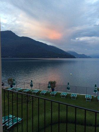 Hotel Regina: Sonnenaufgang Blick von Balkon