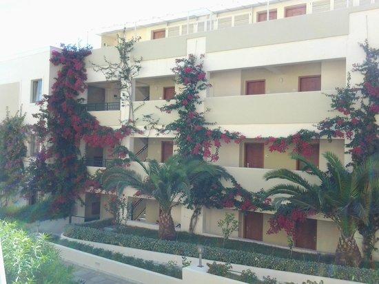 Hydramis Palace Beach Resort : корпус напротив
