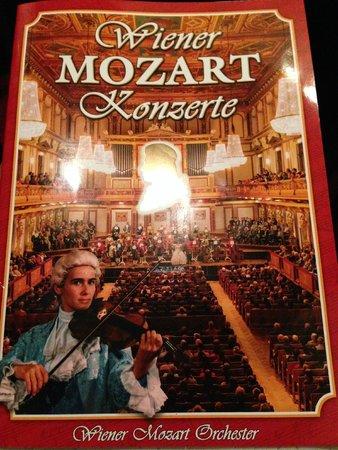 Staatsoper: programme du concert