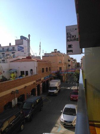 B&B El Pekinaire: Vista desde la 104