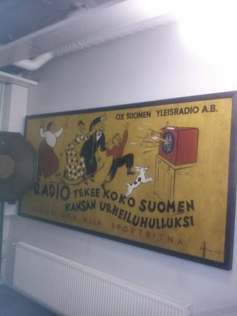 Radio and TV Museum: Painting on museum