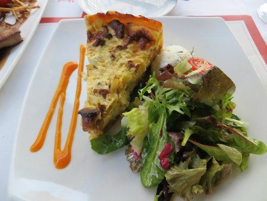 Brasserie Am Gendarmenmarkt : Pfifferlinge Quiche