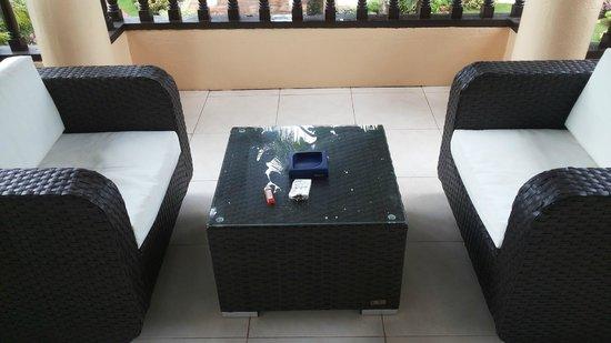 Pinjalo Resort Villas: Balcony 1