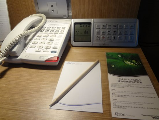 Grand Aston City Hall Hotel & Serviced Residences: latest device in room