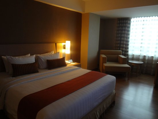 Grand Aston City Hall Hotel & Serviced Residences: room very spacious