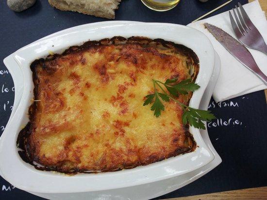 La Petite Maison : Lasagnes poulet et champignon