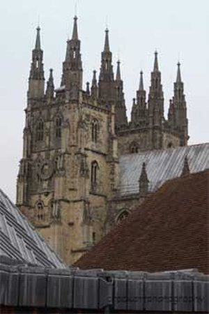 Canterbury Cathedral Lodge: View from the bedroom