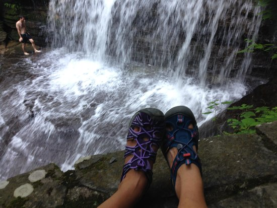 Buttermilk Falls State Park: Gorgeous Hike