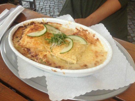 Zwiebelfisch: great pasta gratin
