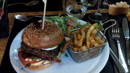 Le Bilboquet : burger excellent