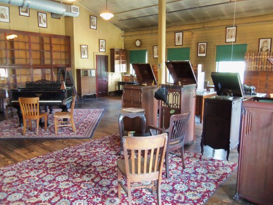 Thomas Edison National Historical Park: The music Room