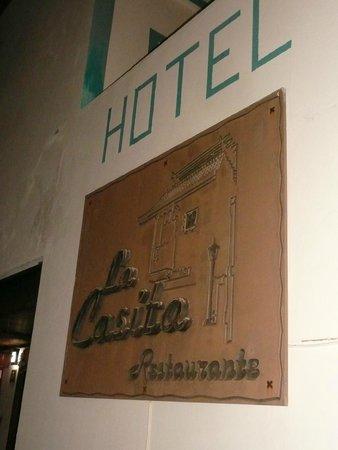 La Casita Hotel: insegna