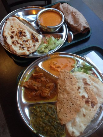 Non Vegetarian Thali Picture Of Thali Cuisine Indienne Montreal