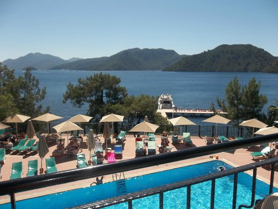 Marmaris Park Hotel : lovely view