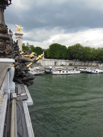 Pont Alexandre III: marvelous