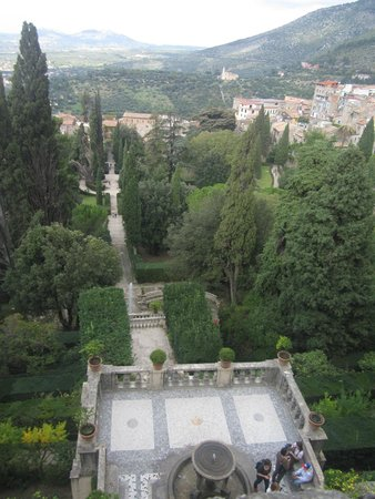 Villa d'Este : Vista dall'alto