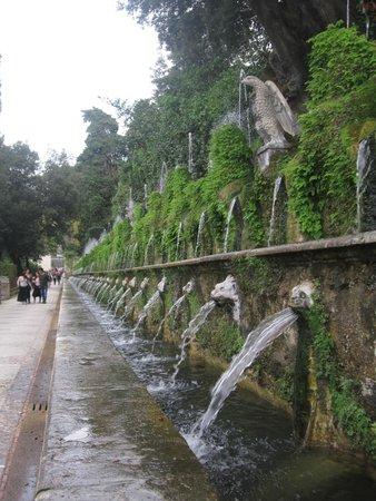Villa d'Este : Cento Fontane