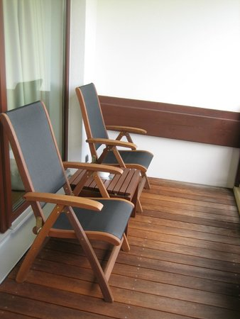 Interalpen-Hotel Tyrol : Balcon