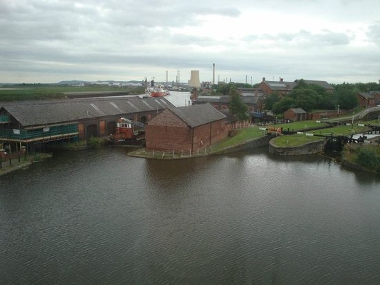 Holiday Inn Ellesmere / Cheshire Oaks: View from our room