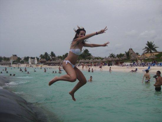 Grand Bahia Principe Tulum : La playa bonita