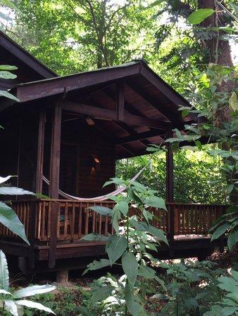 The Lodge and Spa at Pico Bonito : коттедж