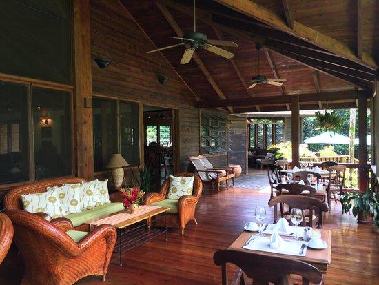 The Lodge and Spa at Pico Bonito: ресторан