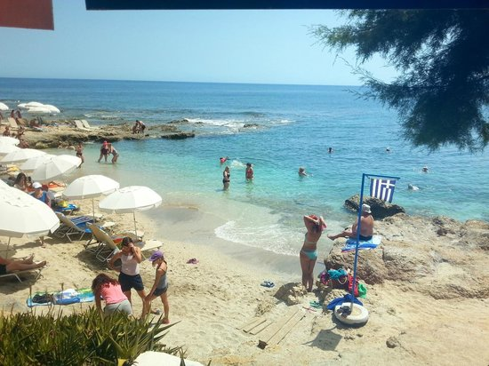 Hersonissos Maris Hotel and Suites : Our beach