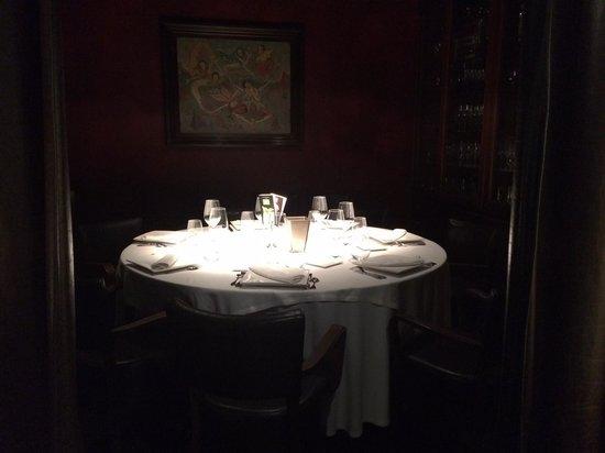 """Speakeasy Restaurant: Una sala """"clandestina"""""""